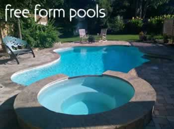 We build beautiful free form pools